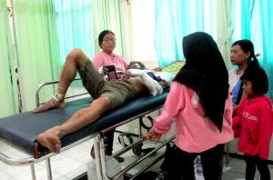 Juwanto, Korban Terparah akibat Ledakan Balon Hari Santri