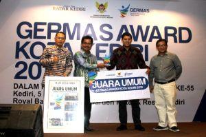 Germas Award Kota Kediri Jadi yang Pertama di Indonesia