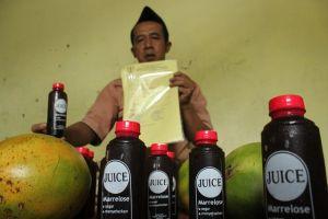 Luqman Karim, Jus Buah Majanya Diminati Hingga Sumatera dan Kalimantan