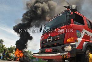Daihatsu Espass Terbakar di SPBU Godean
