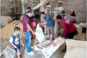 Bobol Gudang Penggilingan Padi, Maling Gasak Ribuan Kilo Beras