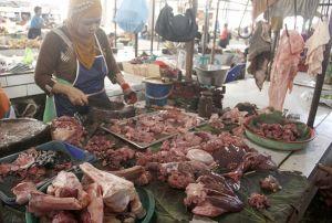 Dinas Pertanian dan Pangan: Belum Ditemukan Daging Impor Berpenyakit