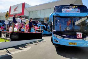 Astra Motor Jateng Antarkan 875 Pemudik Kembali Ke Perantauan