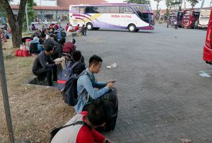Meski Lebaran Usai, Tarif Tiket Bus Kudus - Jakarta Masih Rp 450 Ribu