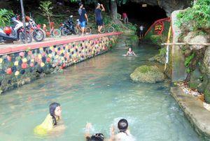 Peralatan Keselamatan Pengunjung Wisata di Gua Pancur Belum Maksimal