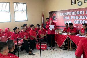 Bupati Sri Sumarni Resmi Jadi Ketua DPC PDIP Grobogan Lima Periode