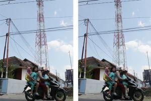 Tak Berizin, Tower Selular PT Protelindo di Golantepus Dibongkar