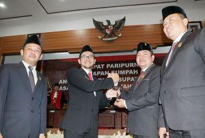 PDI Perjuangan dan PKB Jadi Ketua dan Wakil DPRD Kudus Sementara