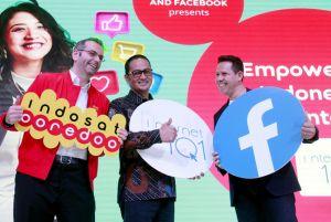 Indosat Ooredoo Kerja bareng Facebook Kampanye 'Internet 101'