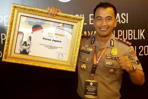Polres Jepara Terima Penghargaan Layanan Sangat Baik dari Kemenpan RB