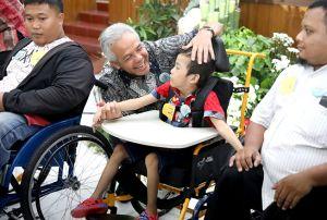 Ubah Cara Pandang terhadap Disabilitas, Ganjar Perintahkan Beri Akses