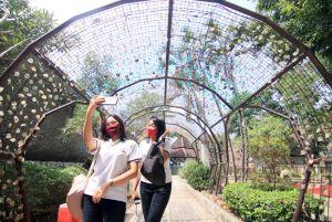 Hari Pertama Buka Semenjak Pandemi, Taman Krida Masih Sepi Pengunjung