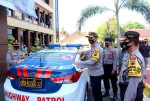 Polres Jepara Launching KBM Tim Tindak Covid-19