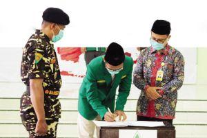Rawat Demokrasi, GP Ansor Rembang Deklarasi Antipolitik Uang