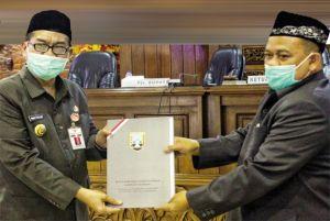 Isi Kursi Pimpinan DPRD Rembang, Supadi Tancap Gas untuk Tujuh Raperda