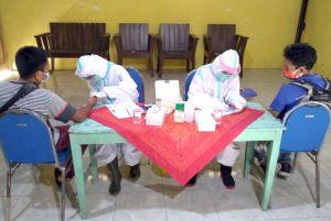 Sukseskan Pilkada Rembang, Gelar Rapid Test 380 Petugas