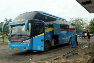 Okupansi Penumpang Bus Turun Drastis saat PPKM
