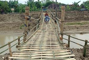 Jembatan Darurat Anggaswangi Selesai Dibangun, Begini Penampakannya