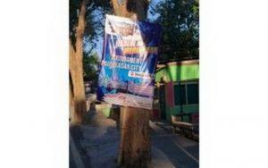 Tak Kantongi Izin, Satpol PP Pamekasan Harus Tertibkan Reklame Ilegal