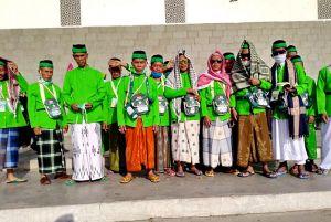 CJH Abadikan Momen di Masjid Quba