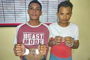 Pesta Sabu, Dua Pemuda Diringkus