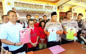 Dua Tersangka Kasus Dugaan Korupsi SDN Samaran 2