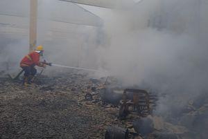 Gudang Terbakar, Perusahaan Ekspedisi Rugi Rp 2,3 Miliar
