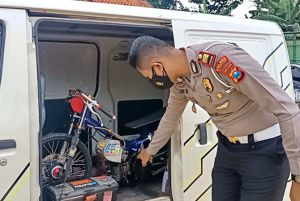 Tertibkan Bali, Polisi Sita Sepeda Motor 300 Cc