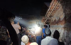 Warkop dan Kios Ikan Asin Pasar Omben Terbakar, Ternyata Ini Pemicunya
