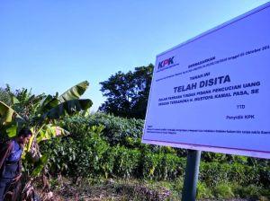 KPK Sita 40 Tanah dan Bangunan Milik MKP