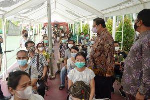 Menko Airlangga Ajak Masyarakat Patuhi Protokol Kesehatan