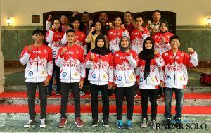 Atlet Wushu Bidik Emas di Pangkal Pinang