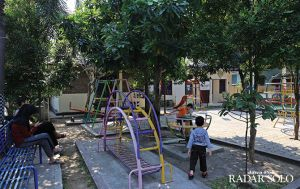 Melihat Kondisi Taman Cerdas di Kota Bengawan