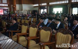 Pelantikan Anggota DPRD Klaten Periode 2019-2024