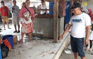 Ceceran Bercak Darah Misterius Gegerkan Pedagang Pasar Kakum Jumantono