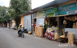 Penghuni Pasar Darurat Dipetakan, Zonasi Sesuai Jenis Dagangan