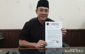 Bagus Selo Ketua DPRD Karanganyar, Rohadi Widodo Wakil Ketua 2