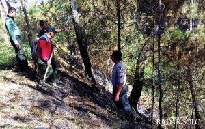 Hutan Lawu di Tiga Kecamatan Terbakar