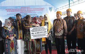 Bupati Sri Mulyani Bangun 40 Hunian di Donggala