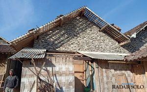 Lereng Gunung Merbabu-Merapi Disapu Angin Kencang, Belasan Rumah Rusak