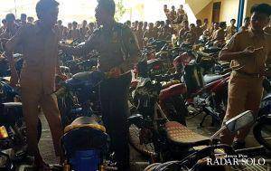 Gelar Sosialisasi, Polisi Temukan Ratusan Knalpot Brong