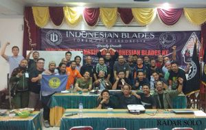 Mengenal Komunitas Pecinta Bilah Pisau Tertua di Indonesia