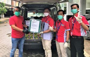 JNE Kirim 10 Ribu Masker untuk Paramedis Covid-19 ke Seluruh Indonesia