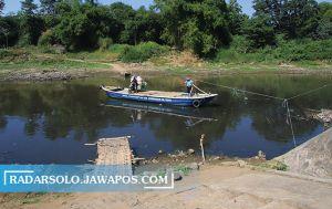 Air Sungai Bengawan Solo Mulai Surut, Siap-Siap Ancaman Kekeringan