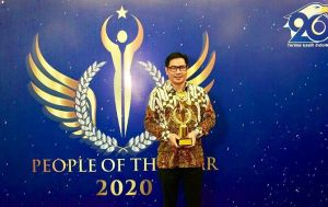 Dukung UKM, Alfamart Raih Penghargaan Best CEO of the Year 2020