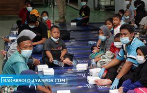 Pengungsi Gempa Sulbar asal Jateng Tiba di Solo, Karantina Dulu di STP