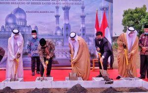 Resmi Dibangun, Seikh Zayed Grand Mosque Solo Tak Hanya untuk Ibadah