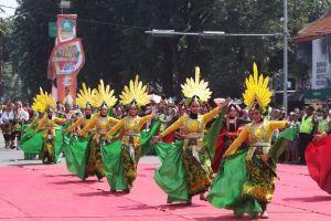Delta Carnival Pamerkan Kreasi Seni Budaya dan 7000 Makanan Khas