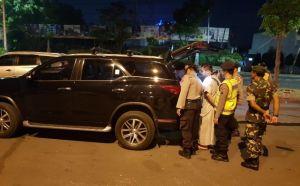 Polres dan Kodim 0817 Gresik Sweeping Kendaraan Peserta Aksi di Jakart