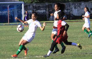 Terkesan Antusiasme Penonton, TC Kedua Timnas Wanita Tetap di Sidoarjo